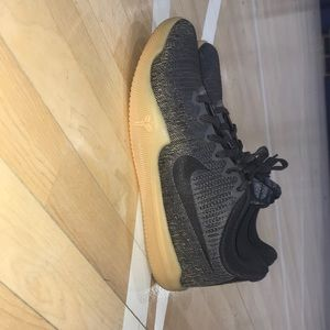 Nike Mamba rage Kobe 11's (black) gum sole low top